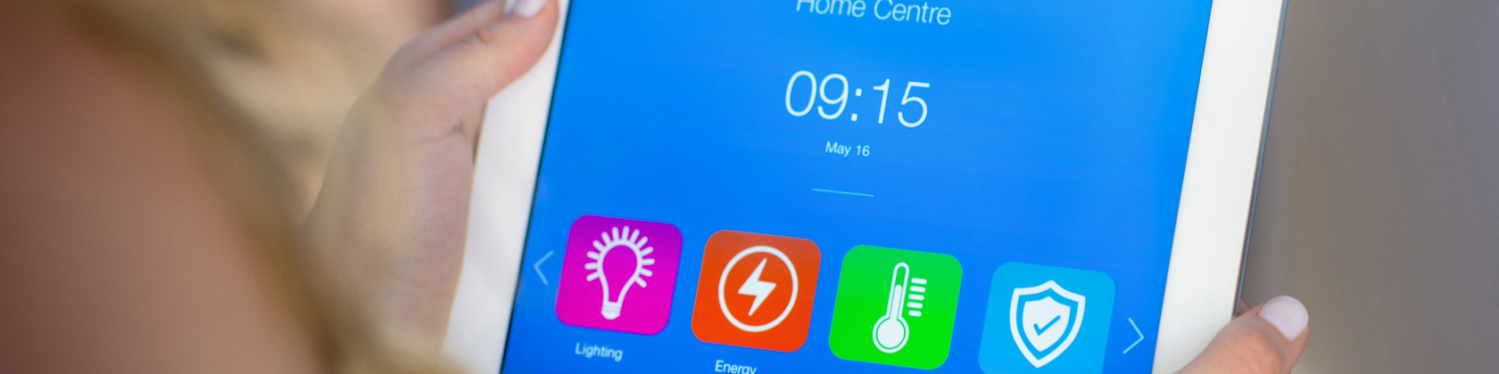 Digital home control apps